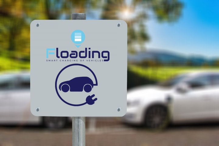 Floading EV charger station